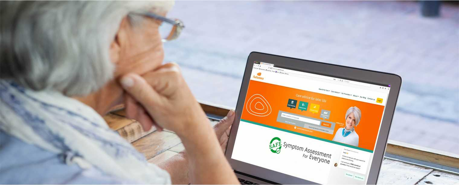 Autumna is the largest online director of elder care providers in the UK