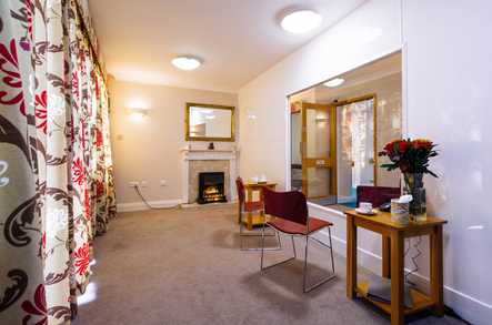 Four Hills Care Home safe visiting space